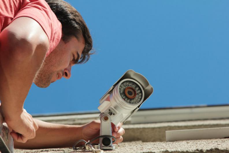 Instalando un sistema de video seguridad